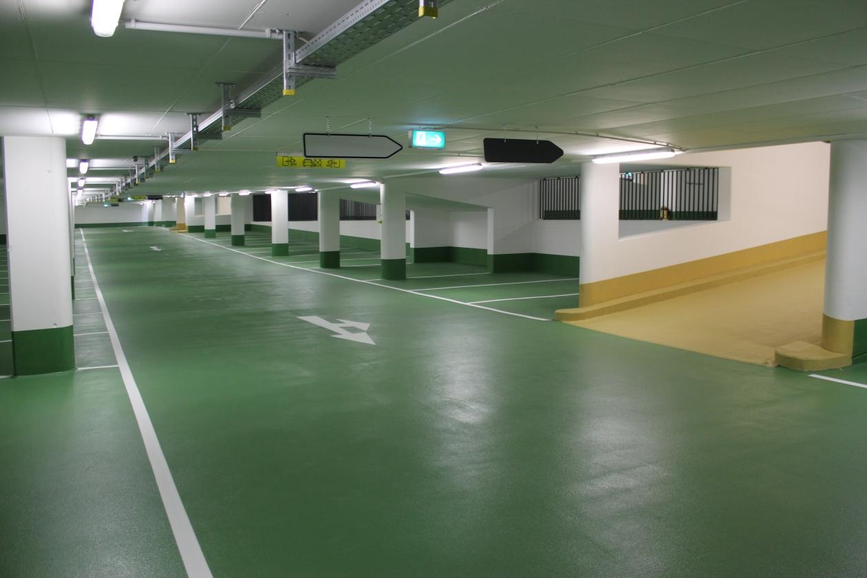 Referenz Bodenbeschichtung Mainz