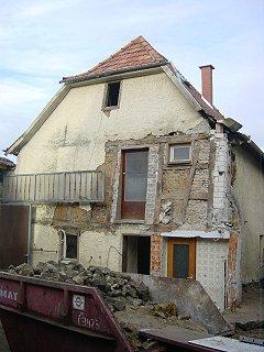 Referenz Altbausanierung Wackernheim