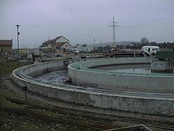 Abwasserbauwerk vor Sanierung