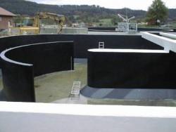 Abwasserbauwerk nach Sanierung