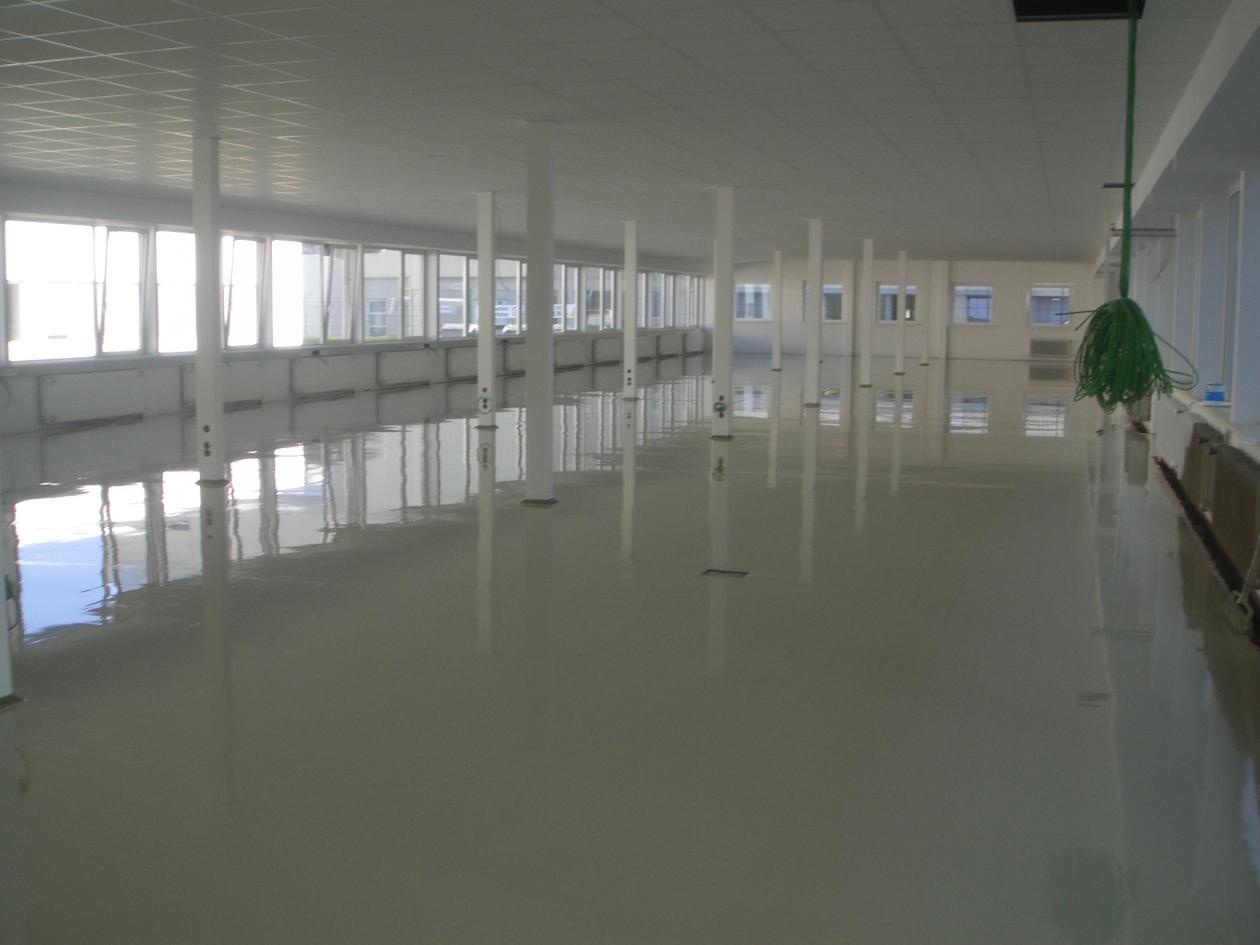 Bodenbeschichtung Industriefläche